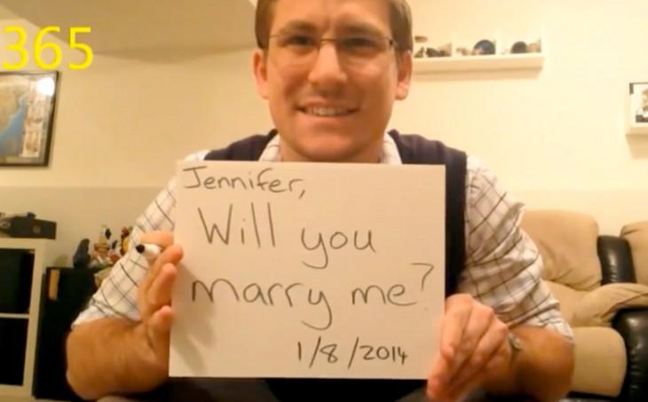 dean smith proponiendo matrimonio