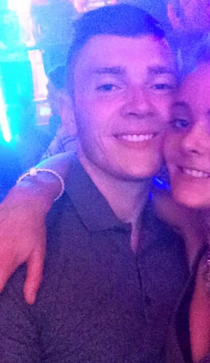 Selfie de Matt y Pippa