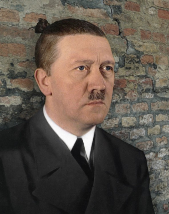 Adolf Hitler peinado hipster