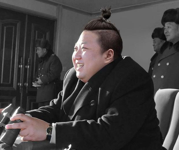 Kim Jong-un peinado hipster