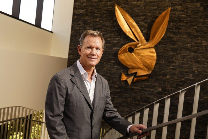 Scott Flanders, ceo de playboy