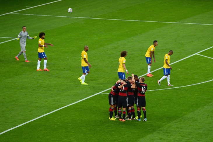 brasil vs alemania mundial 2014