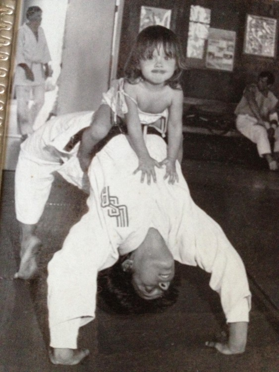 Ronda y su madre