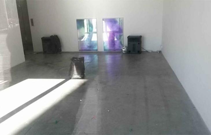 Sala de museo vacía