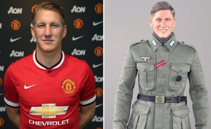 Jugador y muñeco nazi, Bastian