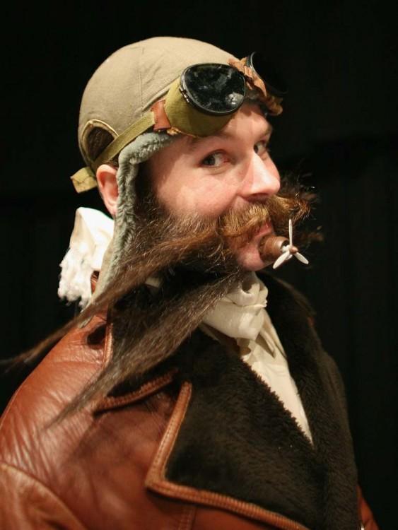 Barba de avión