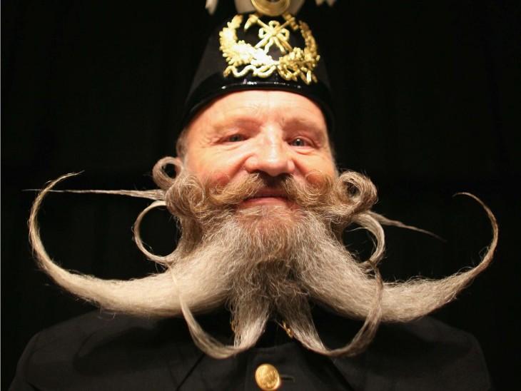 Barba con diseño