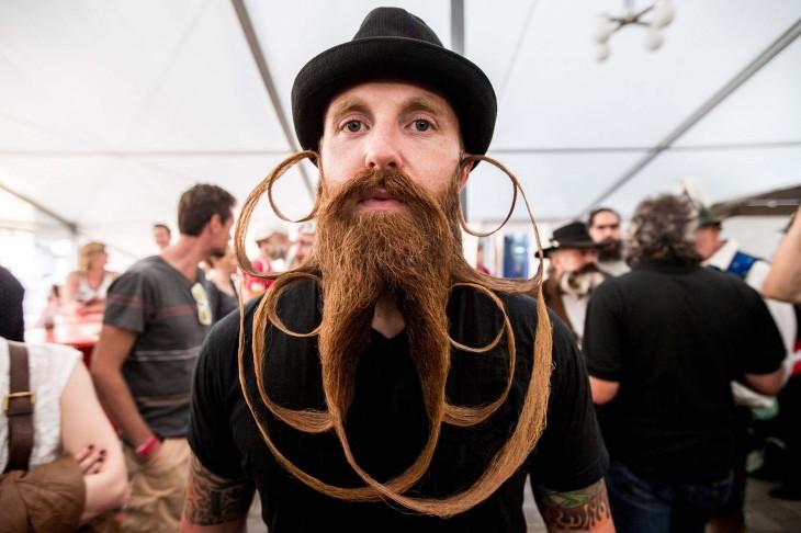 Barba con formas