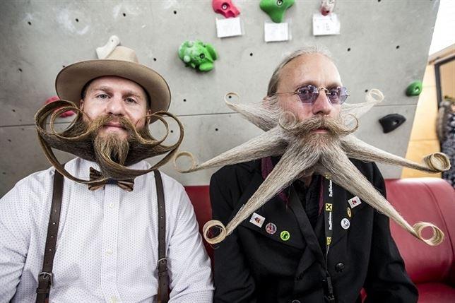 Barbas extrañas