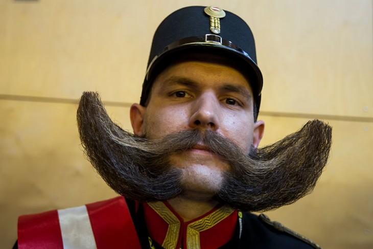 Barba de un soldado