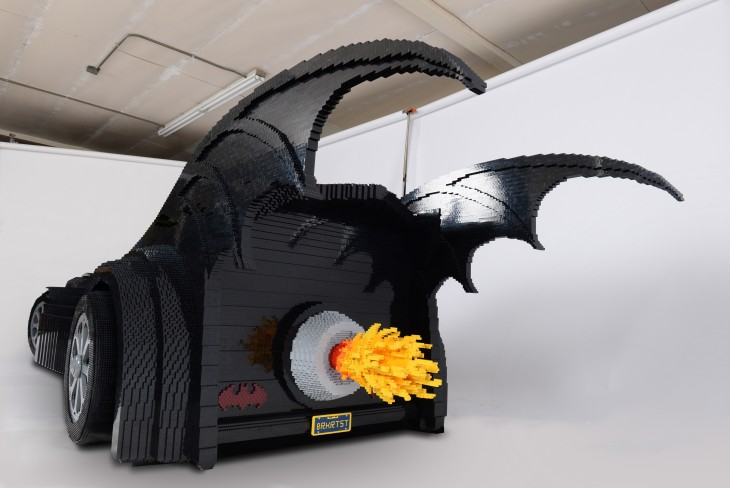 Batimóvil de Lego