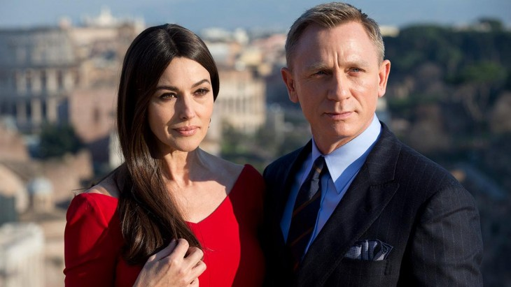 Monica Bellucci con James Bond
