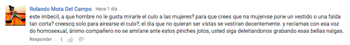 comentario tonto de youtube