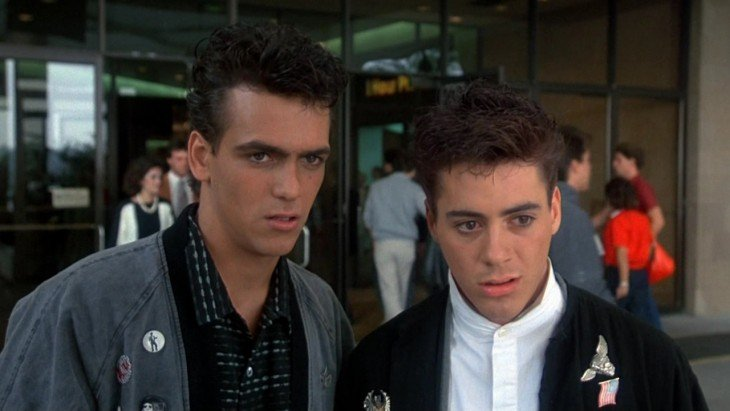 Robert Downey Jr en Weird Science