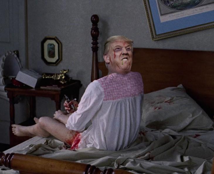 Donald Trump exorsista