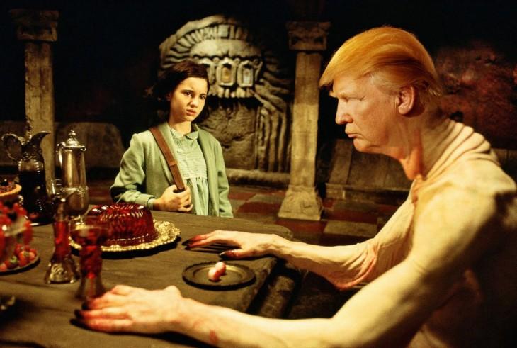Donald Trump en El laberinto del fauno