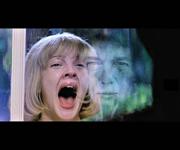 Donald Trump en escena de Scream