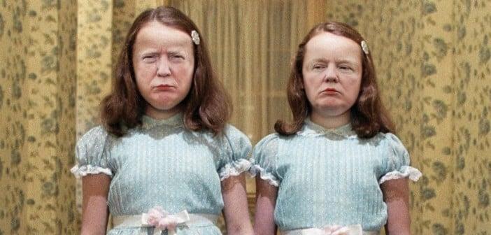 Donald Trump gemelas de El Resplandor