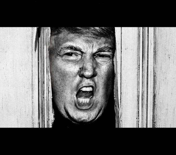 Donald Trump en El Resplandor