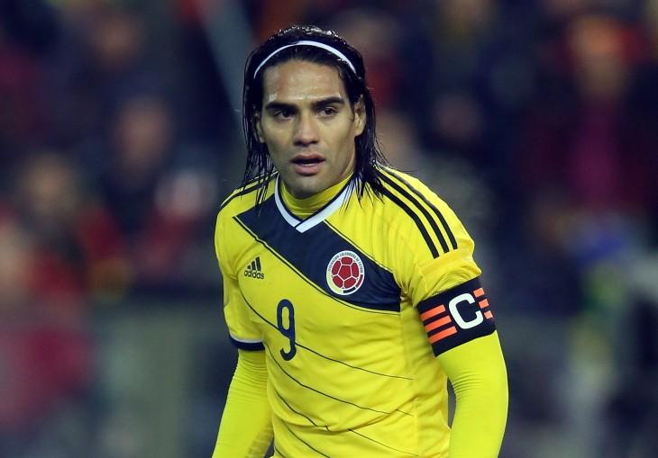 Radamel Falcao capitán de Colombia