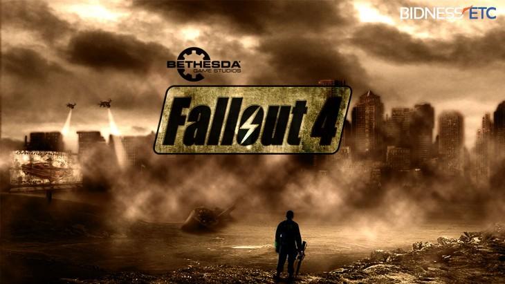 Portada videojuego Fallout 4