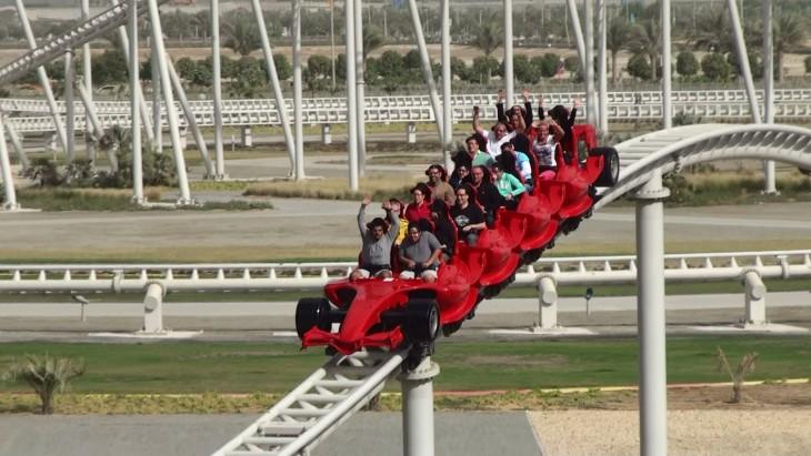 Montaña rusa de Ferrari