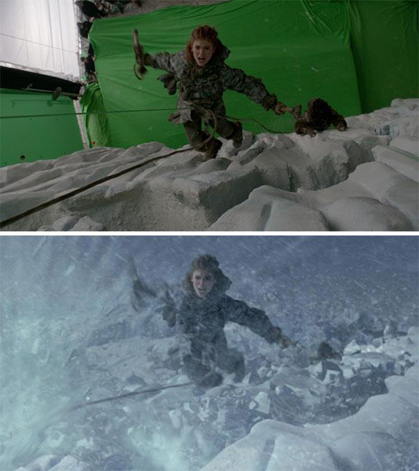 Efectos especiales en Game of Thrones