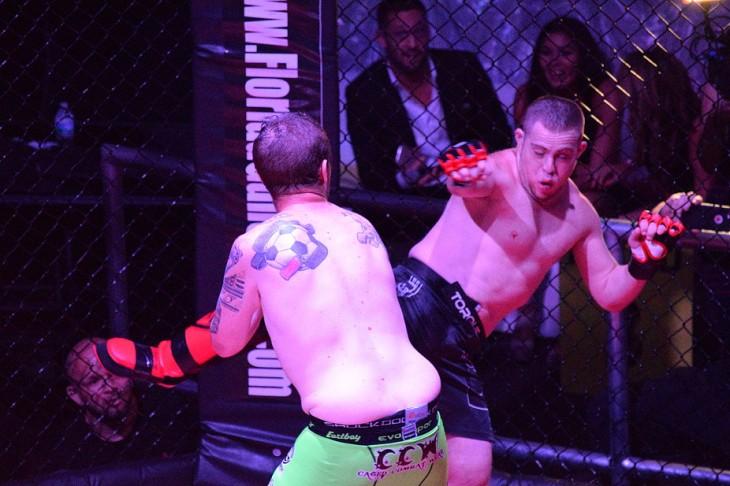 Peleador de MMA con síndrome de Down