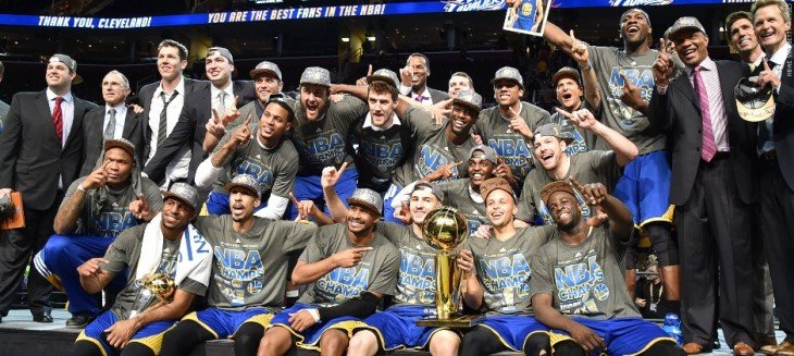 golden state warriors campeones NBA