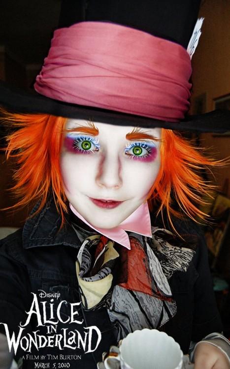 helen stifler sombrerero loco cosplay