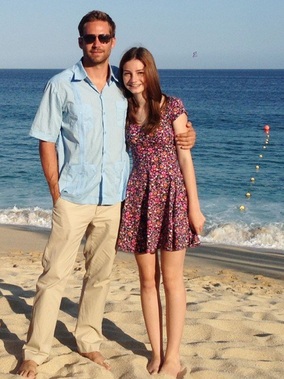 Paul Walker con su hija
