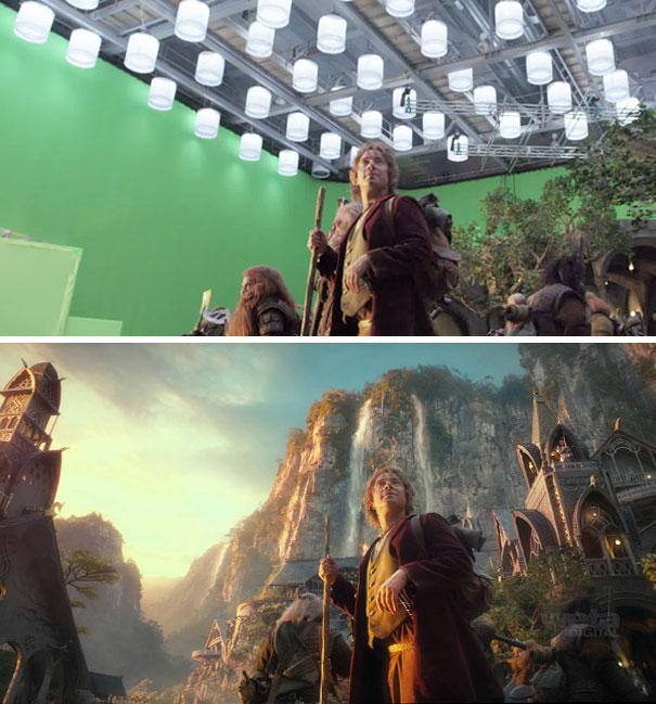 Efectos en el Hobbit