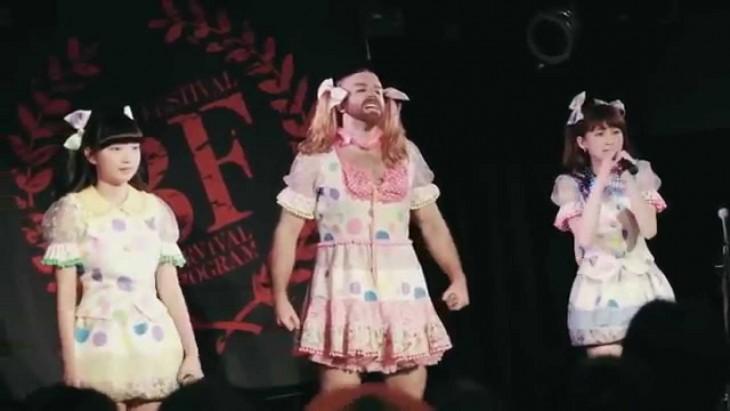 Ladybaby en el escenario