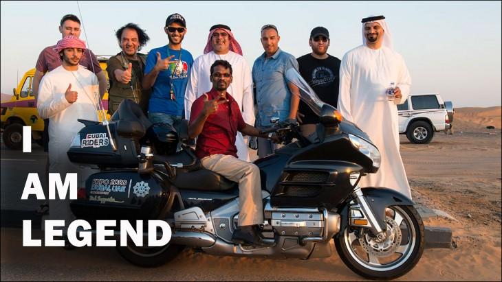 Hindú leyenda del motociclismo