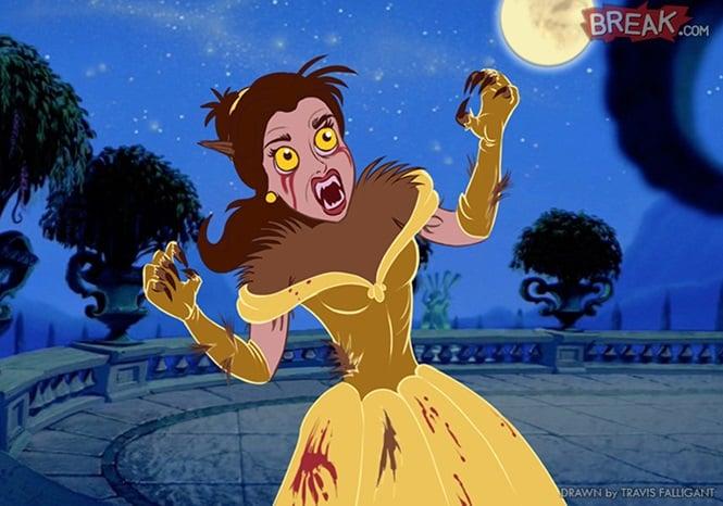 Bella como Hombre Lobo
