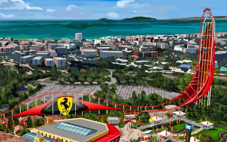 Maqueta Ferrari Land