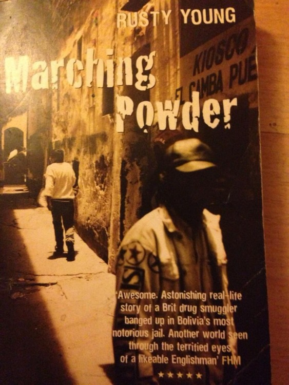 Portada de Marching Powder