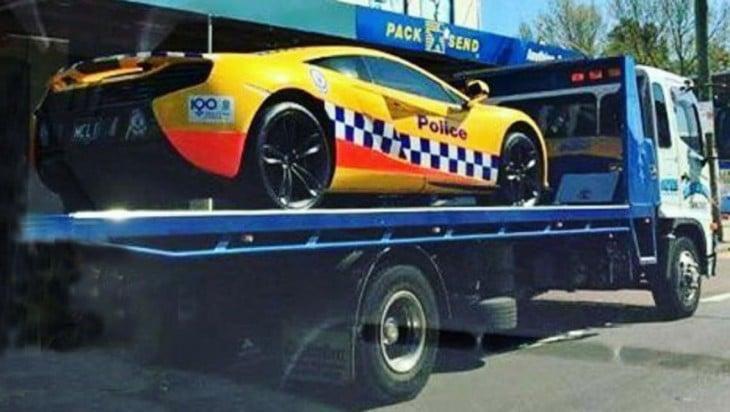 mclaren 650S policia australiana