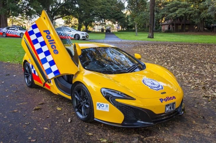 mclaren 650S policia australia new south wales