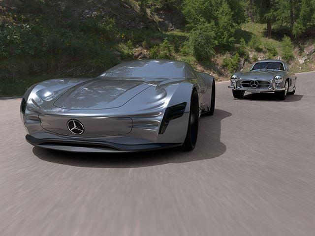 Mercedes SL Pure
