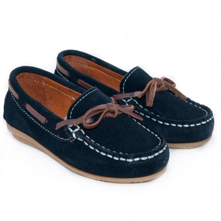 Mocsasines de tipo zapato de barco