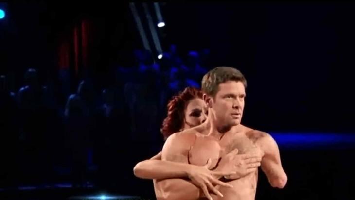 Noah Galloway bailando