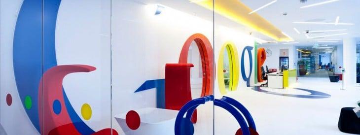 Interior oficinas de Google