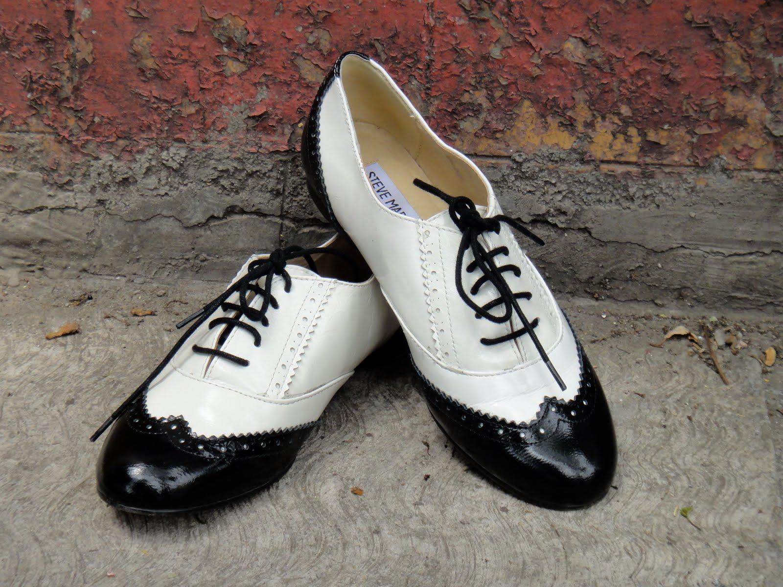 Zapato Oxford tipo Pachuco