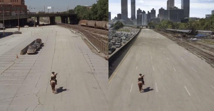 Escena de The Walking Dead