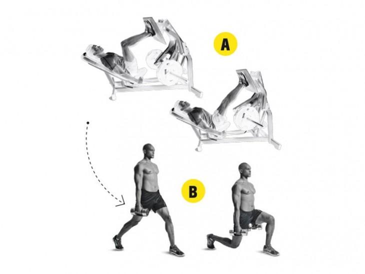 Gráfica de ejercicios