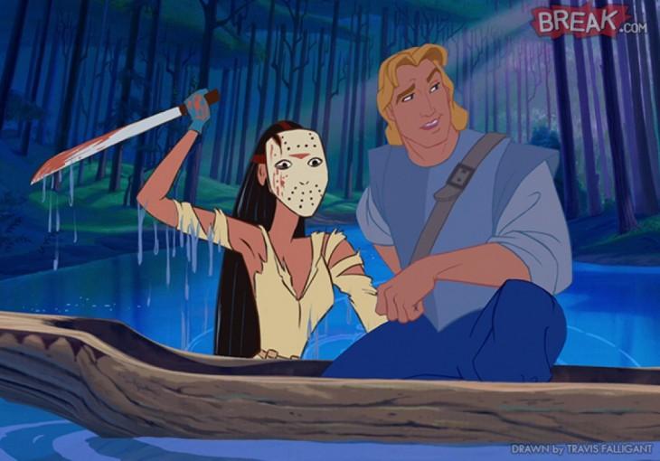 Pocahontas como Jason