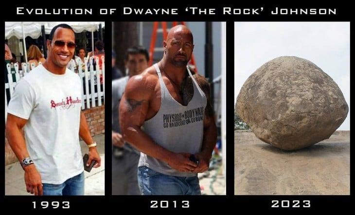 Evolución de La Roca