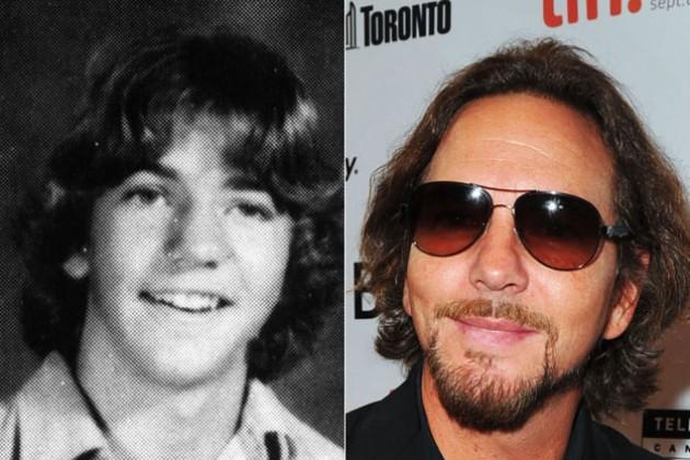 Eddie Vedder niño y adulto