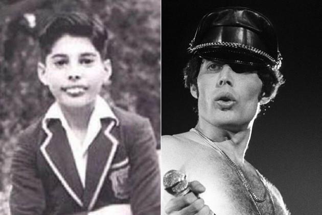 Freddie Mercury antes y después